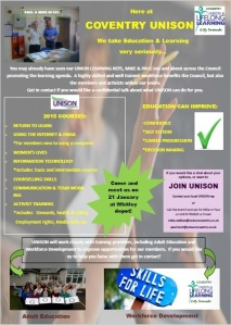 UNISON comes to Whitley!